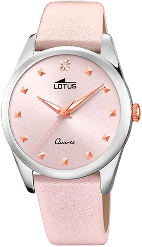 Lotus 18642/2 - Reloj Analógico para Mujer, de Cuarzo con Correa en Cuero