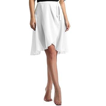 Agoky - Falda de Gasa para Mujer o niña (60 cm de Longitud ...