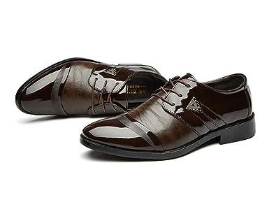 NAXIEHUAER Chaussure Homme Cuir Chaussures d'affaires pour