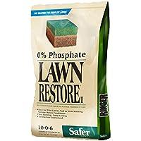 Safer Brand Ringer Lawn Restore Lawn Fertilizer 25 Pounds