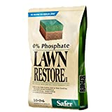 A green lawn is a healthy lawn, and a healthy lawn is a product of a thriving ecosystem within your soil. That's why Safer Brand has created Lawn Restore II – an organic fertilizer that immediately goes to work to ensure the proper balance of natural...