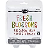 Sizzix 2.375-Inch Fresh Blossoms Bigz Die Set, 5.5-Inch by 6-Inch, 4-Pack