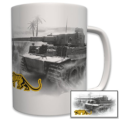 Tiger Tank Heavy amoured Division 501 - Coffee Cup Mug
