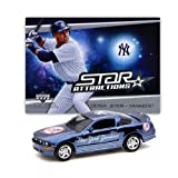 New York York Yankees MLB Mustang GT with Derek Jeter Trading Card in Display