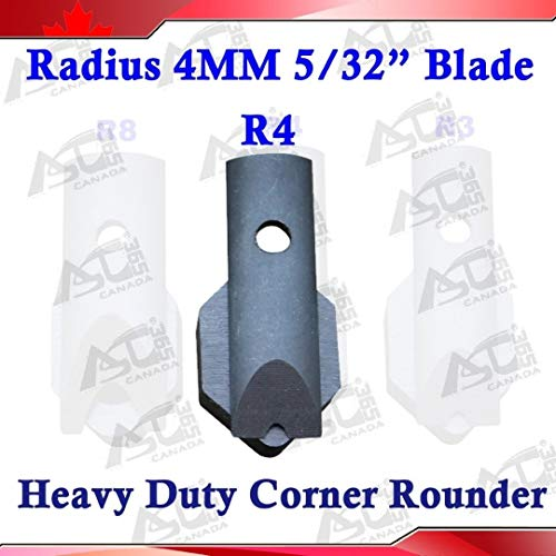 "R4 Radius(5/32"") Replaceable Die Blade for All Metal Corner Rounder Punch Cutter"