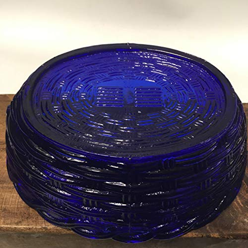 Large 9'' Cobalt Blue Glass HEN ON HER NEST Candy Dish - Multi Purpose Bowl by Generic (Image #3)