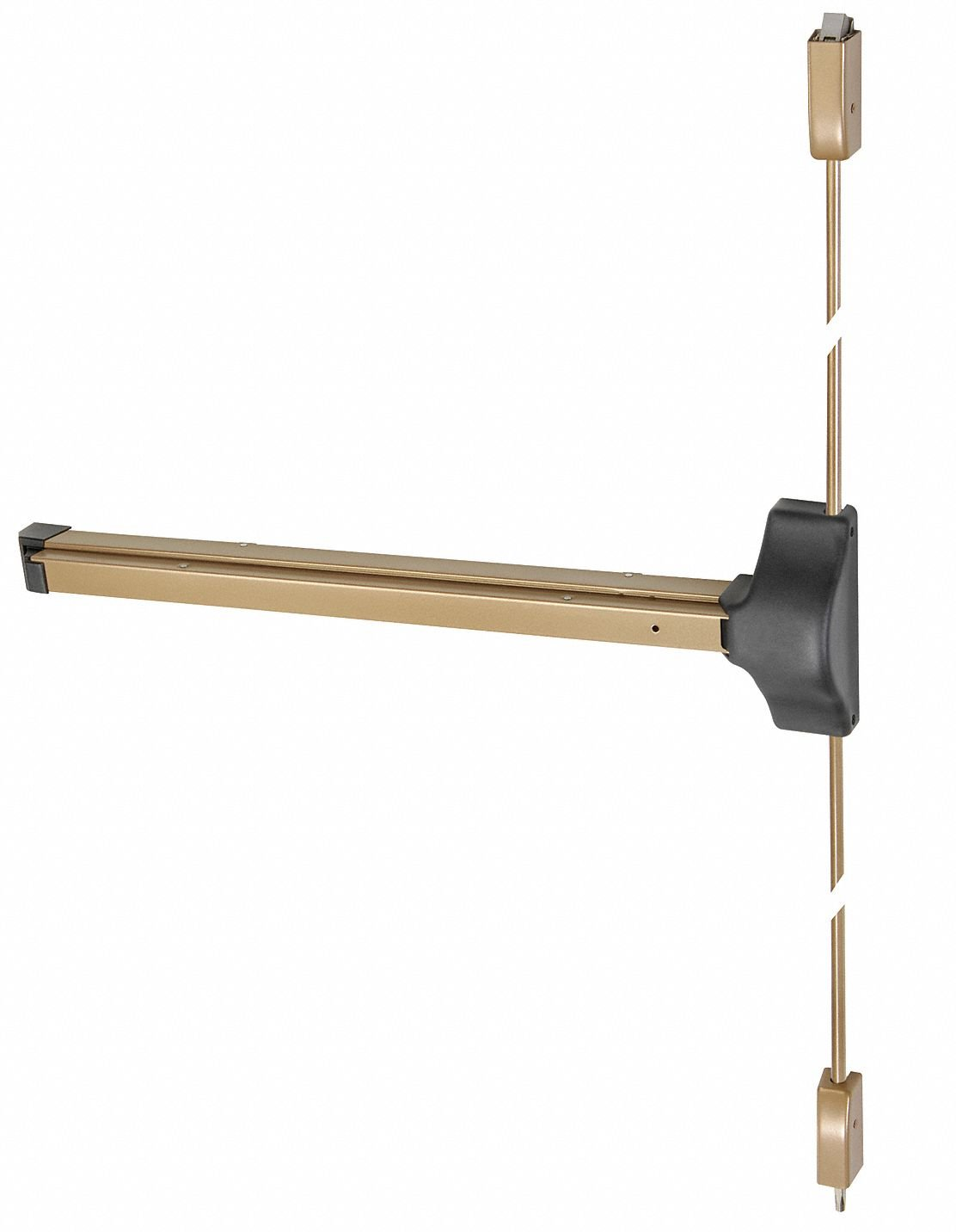 Exit Device, Series 1800, Bronze, Surface Vertical Rod