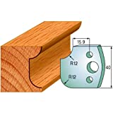 CMT 690.176 Profiled Knives for Shaper Cutters, 1-37/64-Inch Cutting Length, 5/32-Inch Thickness - 2-Pack