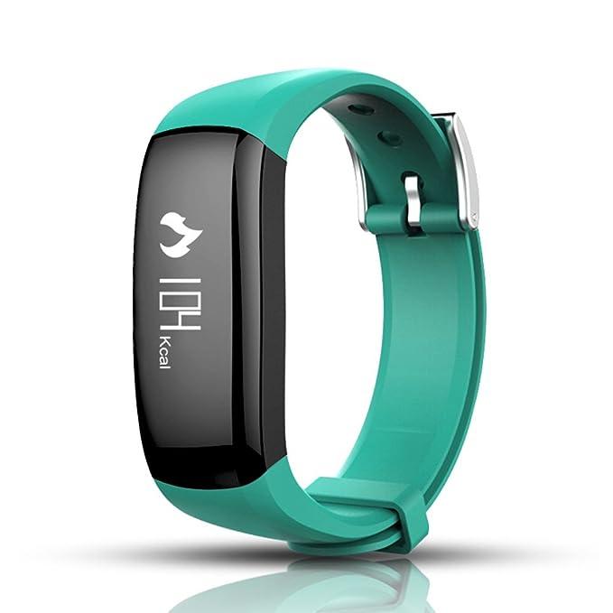 Fitness Tracker, zhixie Tracker pulsera inteligente actividad ...