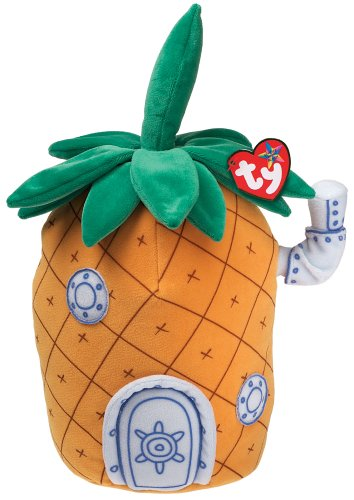 Ty SpongeBob Pineapple Home by Ty