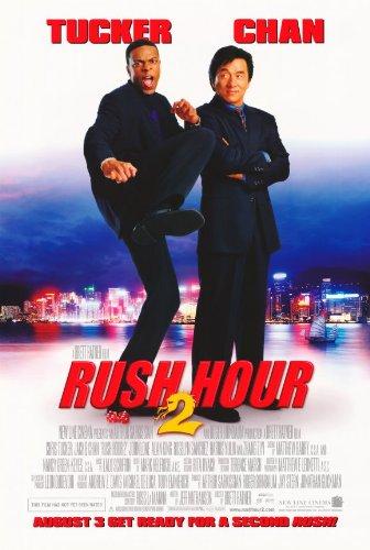 Mini Movie Poster Rush Hour 2 Jackie Chan Chris Tucker