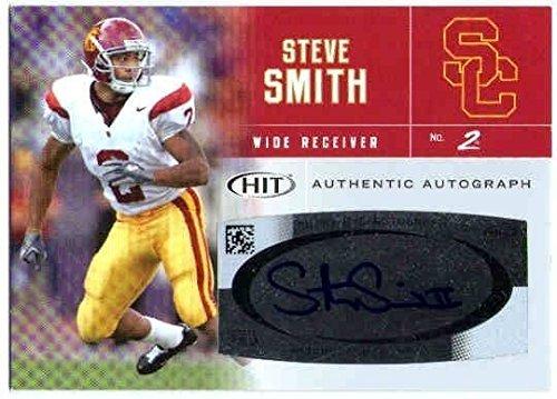 STEVE SMITH 2007 SAGE HIT Rookie Card Auto RC Autograph USC Trojans