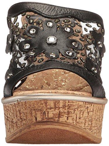 Sandal Wedge Liberty Ll Black Mila amp; Women's Love CwfBqZZ