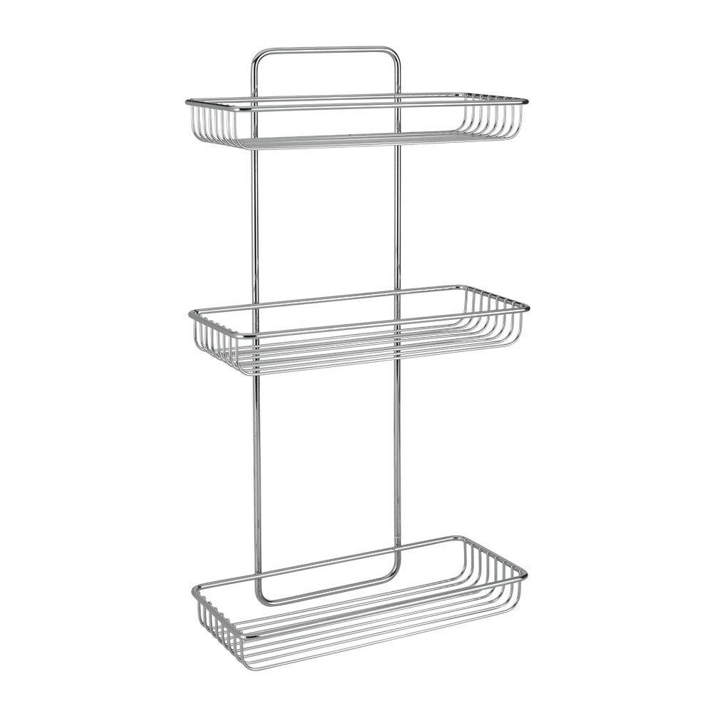 Metaltex Mallorca 3-Tier Rectangular Shelf