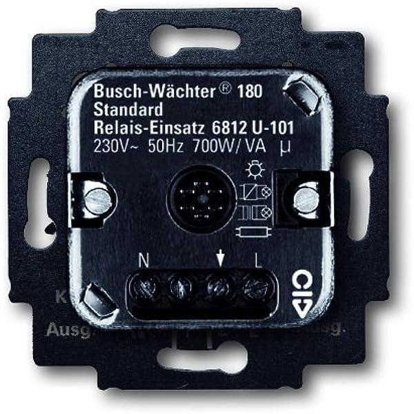 Busch-Jaeger 6812U-101 - Base de relé para sensor de movimiento: Amazon.es: Bricolaje y herramientas