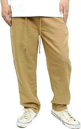 [one colors] メッシュ デニムパンツ メンズ 大きいサイズ 軽量 動きやすい ウエストゴム イージーパンツ