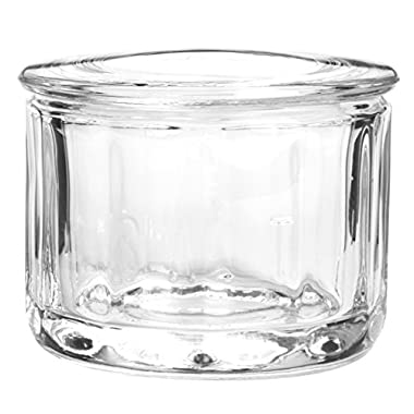 Anchor Hocking Fire King Glass Salt Dip with Lid