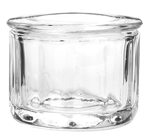 Anchor Shaker Hocking Glass (Anchor Hocking 77918 Fire-King Salt Dip with Lid, Glass)