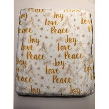 Amazon.com: Berkshire Blanket Holiday 2 Pack Velvetloft Throws ...