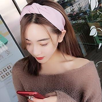 Amazon.com   2018 fresh new face cloth hair bands headband Korean simple  sweet Sen female line ladies headwear for women girl lady   Beauty e03715e5717