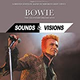 BOWIE - SOUNDS & VISIONS: JAPAN EDITION HAND NUMBERED GREY VINYL