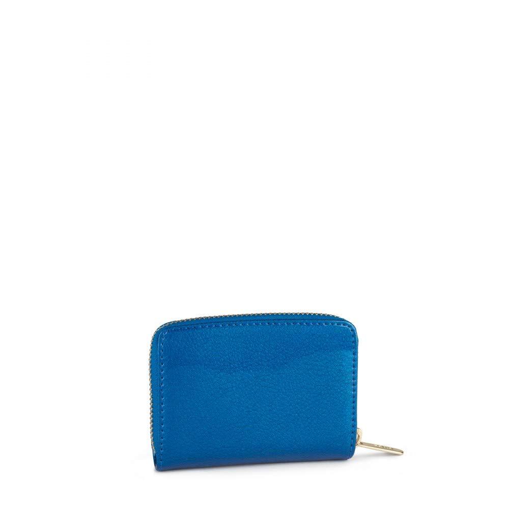 Tous 995960390, Monedero para Mujer, (Azul), 10x8x2.5 cm (W ...