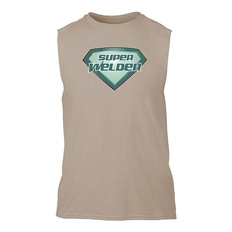 Super soldador sin mangas T-Shirt Arena Marrón xxx-large