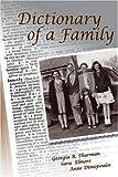 Dictionary of a Family, Georgia R. Thurman and Sara Elmore, 1932560963