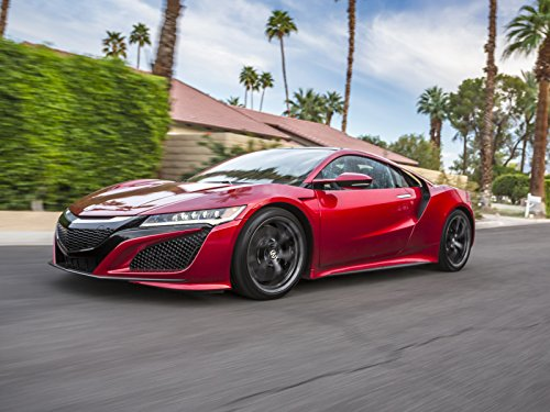 2017 Acura NSX Hybrid Road, Track & Old vs New Supercar Review