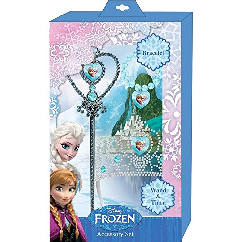Frozen Accessory Set (3 Piece) - Party Supplies (Around The World Party Costume Ideas)