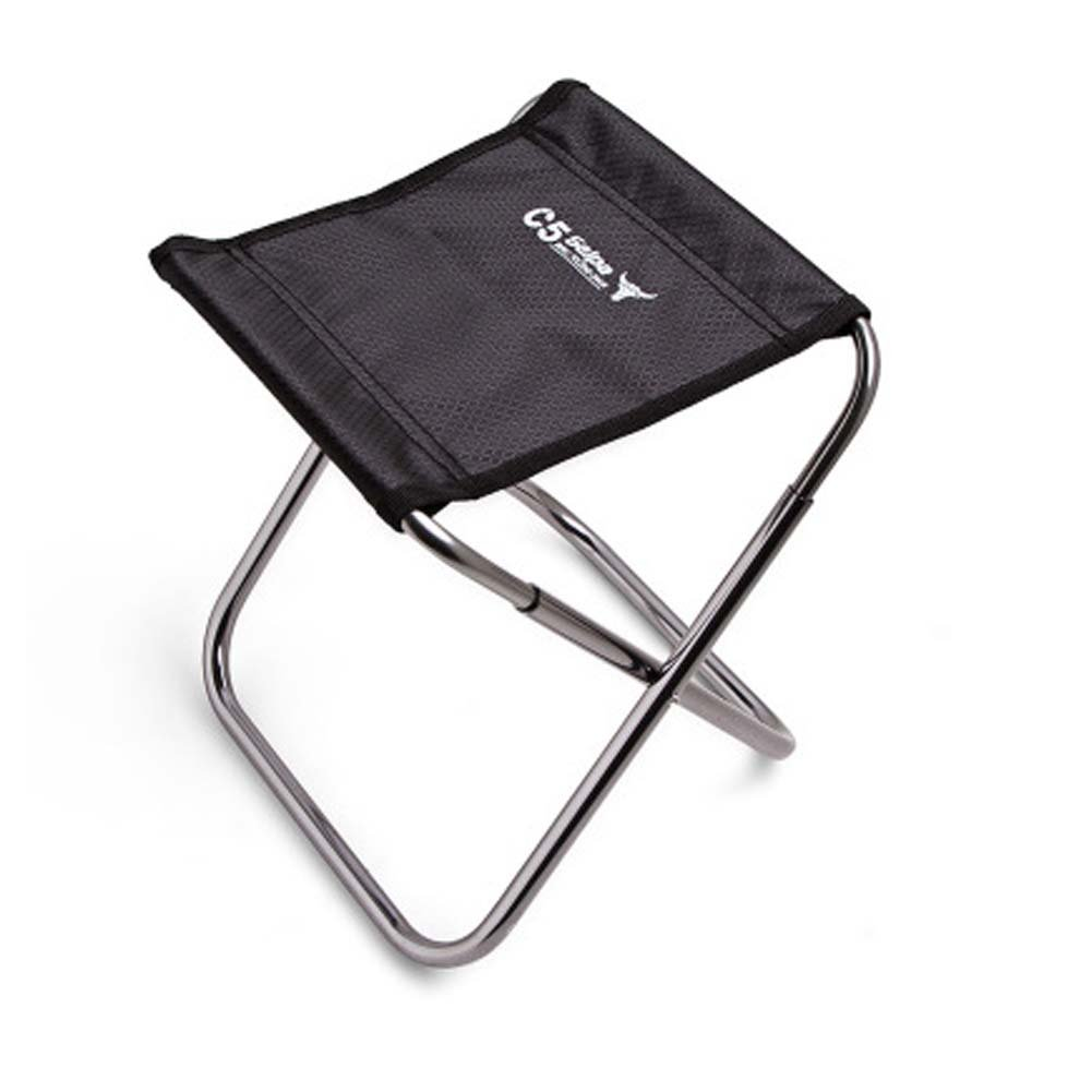 AODEW Portable Folding Chair Compact Ultralight Folding Stool Seat with a Carry Bag for Hiker Camp Beach Outdoor