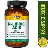 Country Life R-Lipoic Acid, 100 mg - 60 Vegan Capsules