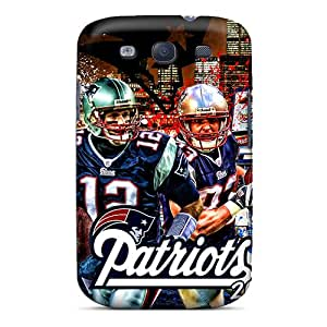 Hot Tpu Cover Case For Galaxy/ S3 Case Cover Skin - New England Patriots