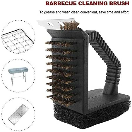 Gofeibao Brosse Barbecue Grill Brosse Barbecue Vapeur Pinceau à Badigeonner BBQ Barbecue Nettoyeur À Vapeur Brosse Grill Brosse Vapeur BBQ Brosse De Nettoyage