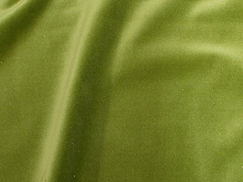 SyFabrics 100% Cotton Velvet Fabric 56 inches Wide Lime