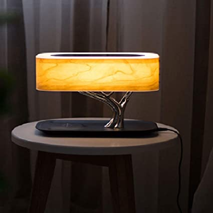 BIN Lámpara De Sobremesa Lámpara De Mesa Bluetooth Altavoz ...