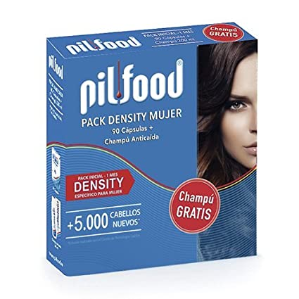 PILFOOD Pack Density (60 cápsulas + Champú Regalo)
