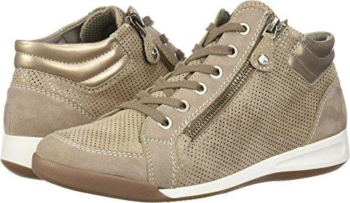ara Women's Rylee Sneaker, Taupe Puntikid, 8.5 M US