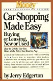 Car Shopping Made Easy, Jerry Edgerton, 0446672440