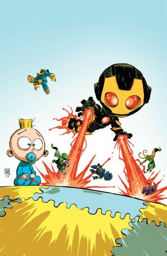 Iron Man #1 Skottie Young Baby Variant Edition