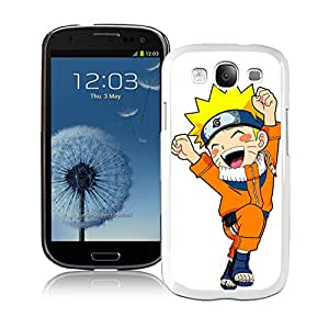 Fashion Designed Naruto 24 White Samsung Galaxy S3 Phone Case