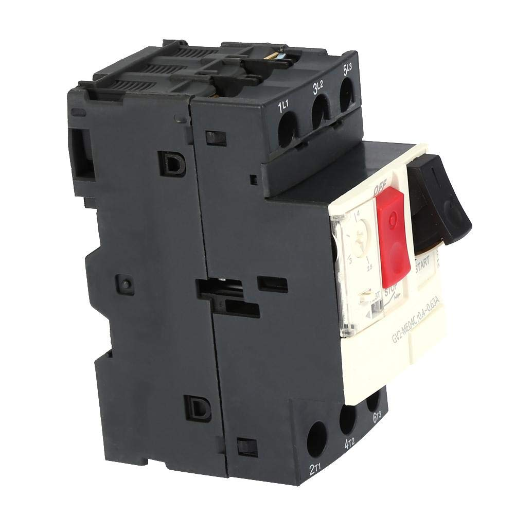 GV2-ME08C 2.5~4A GV2-ME01C//ME02C//ME03C//ME04C//ME05C//ME06C//ME07C//ME08C//ME10C//ME14C//ME16C//ME20C//ME21C//ME22C//ME32C Disjoncteur de protection moteur Disjoncteur moteur Noir