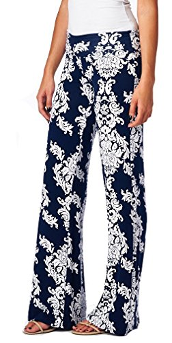 Eastylish Printing Casual Trousers Palazzo