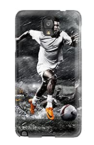 Ultra Slim Fit Hard ZippyDoritEduard Case Cover Specially Made For Galaxy Note 3- Cristiano Ronaldo Footballs
