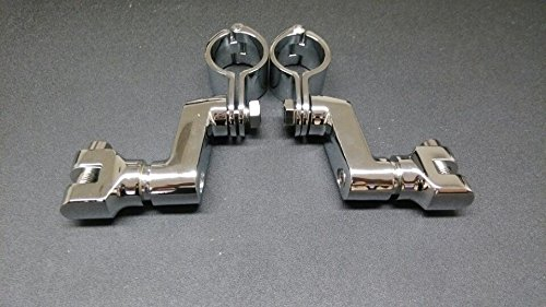 Replacement Chrome Longhorn Footpeg 1.5