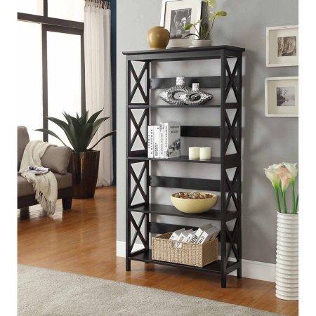 Review Convenience Concepts Oxford 5-Tier Bookcase, Multiple Colors By Convenience Concepts by Convenience Concepts