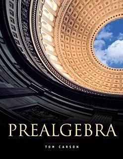 Prealgebra 4th edition tom carson 9780321756954 amazon books prealgebra fandeluxe Choice Image