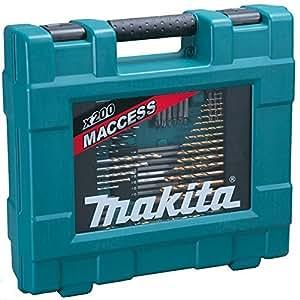 Makita D-37194 - Maletin De Accesorios Maccess 200 Pcs