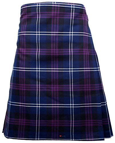 (Gents Scottish Kilt Full 8 Yard 24in Drop Waist 34-36 Colour Heritage Of Scotland Tartan)