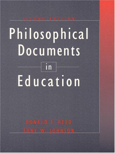 Philosophical Documents in Education (2nd Edition)